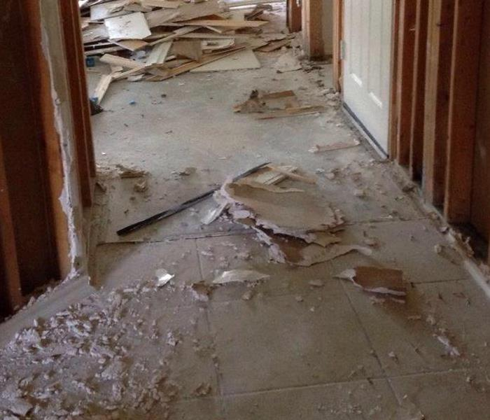 Hurricane Harvey Flood Damage  Before