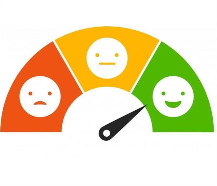 Illustration of a Satisfaction Meter